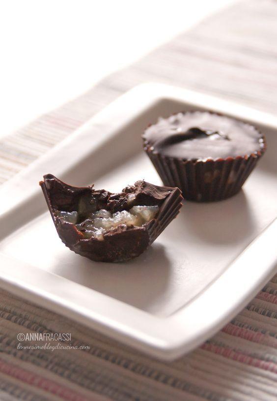 Cioccolatini fatti in casa alle pere e zenzero ©AnnaFracassi