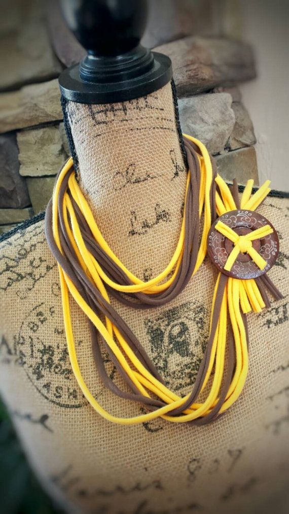 The perfect Wyoming Cowboys Inspired Accessory!  Check out this item in my Etsy shop https://www.etsy.com/listing/249385905/wyoming-cowboys-inspired-tshirt-scarf