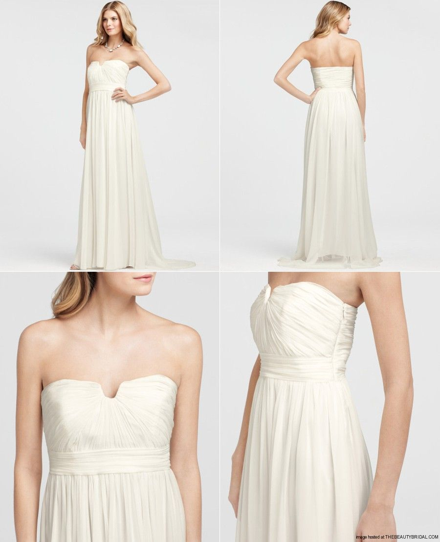 Ann Taylor Strapless Vintage Bridal Gown | Wedding Style | Pinterest ...