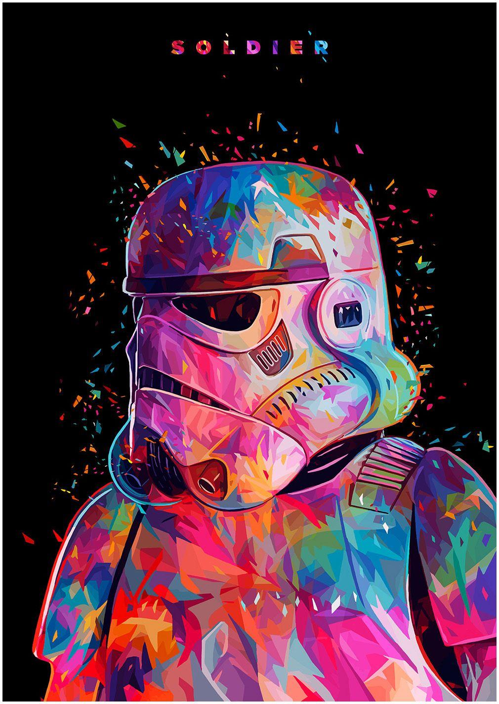 Star Wars Tribute On Behance Star Wars Pinterest Fondos
