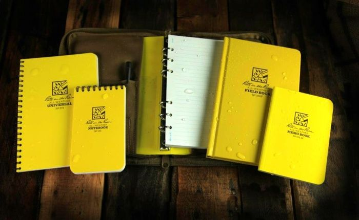 Rite In The Rain Notebooks Stay Dry Even When It S Raining Cats