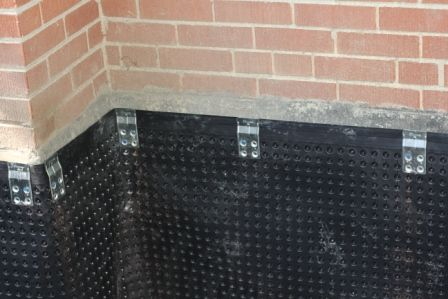Damp proofing membrane installed on foundation architecture damp proofing membrane installed on foundation solutioingenieria Images