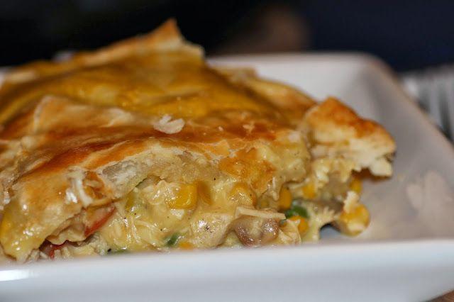 Dish Over Dinner: RockCrok Chicken Pot Pie
