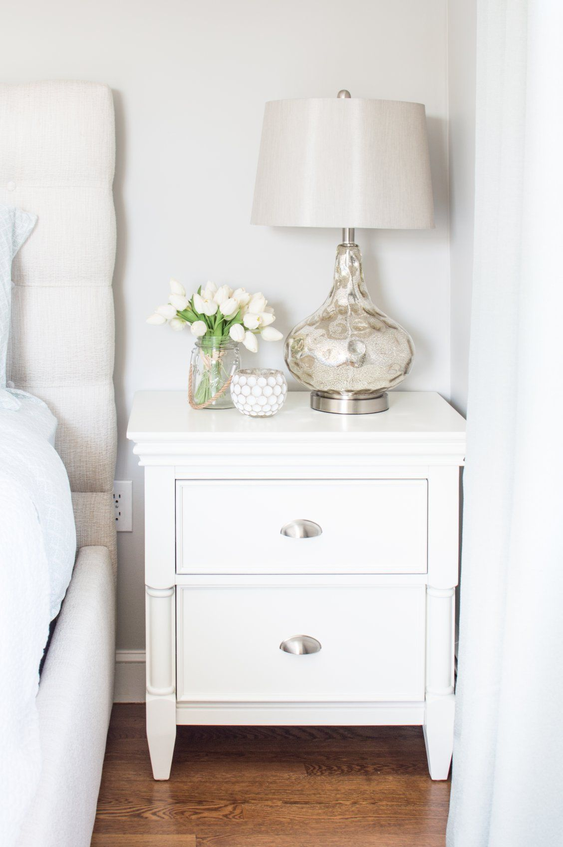 This retreat nightstand is named perfectly its reminiscent of gorgeous bedroom furniture youd