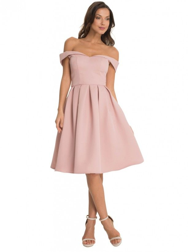 Chi Chi London Schulterfrei Dresses Wedding Guest Dress Guest Dresses