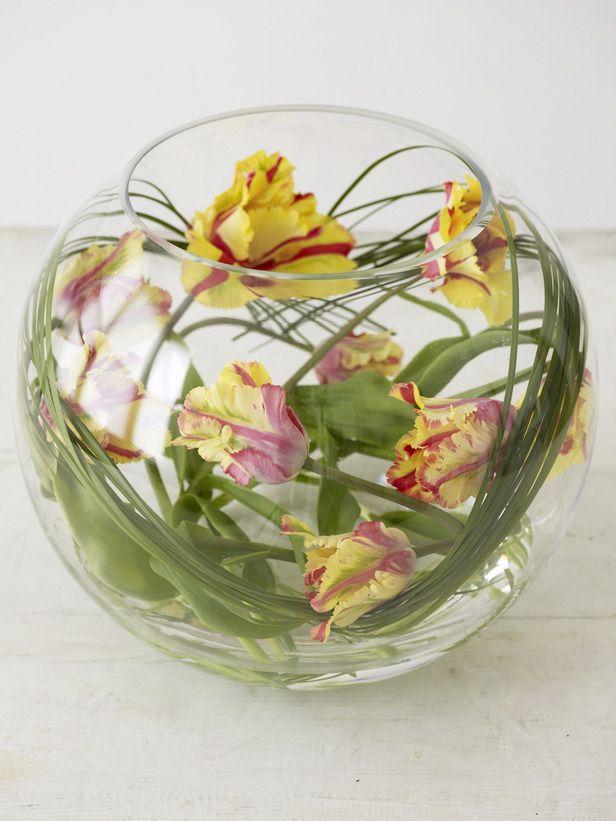 Design 101 Fresh Flowers Arrangements Tulips In Vase Flower Arrangements