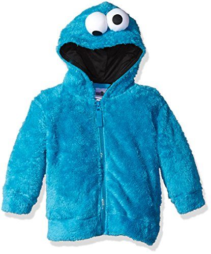 2a63194e1 Monster Costumes, Cookie Monster, Hooded Jacket, 3d Face, Faux Fur Hoodie,