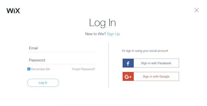 Wix Sign In | Sign Ins | Signs, Website, Accounting