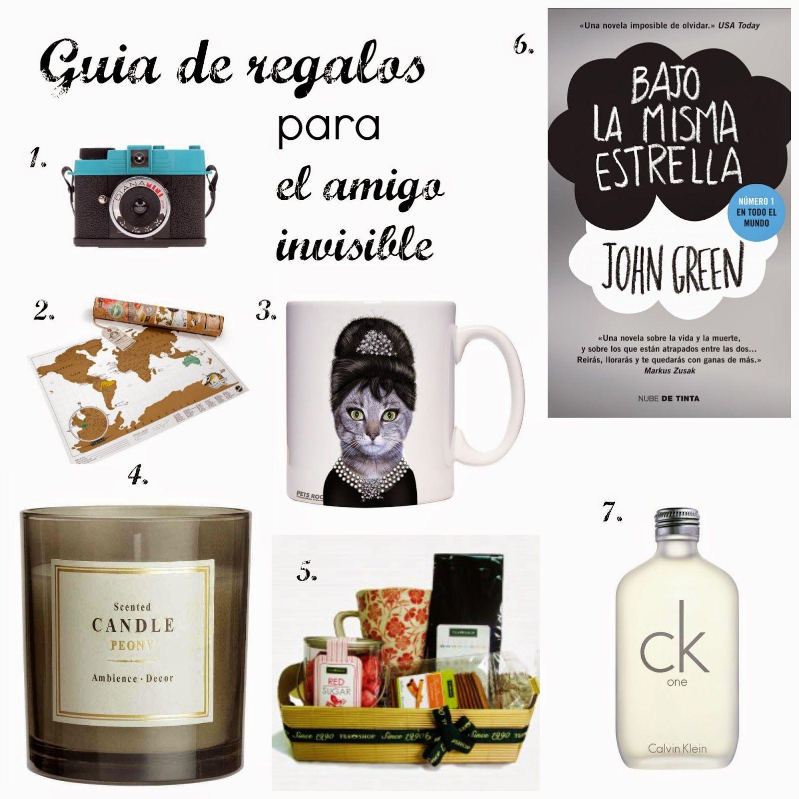Gu a de regalos para el amigo invisible regalos for Regalos originales amigo invisible