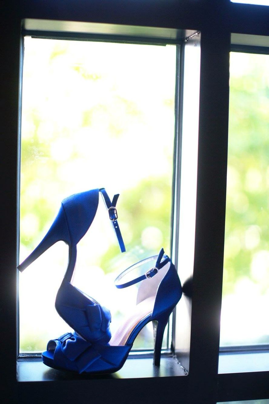 Something blue, wedding