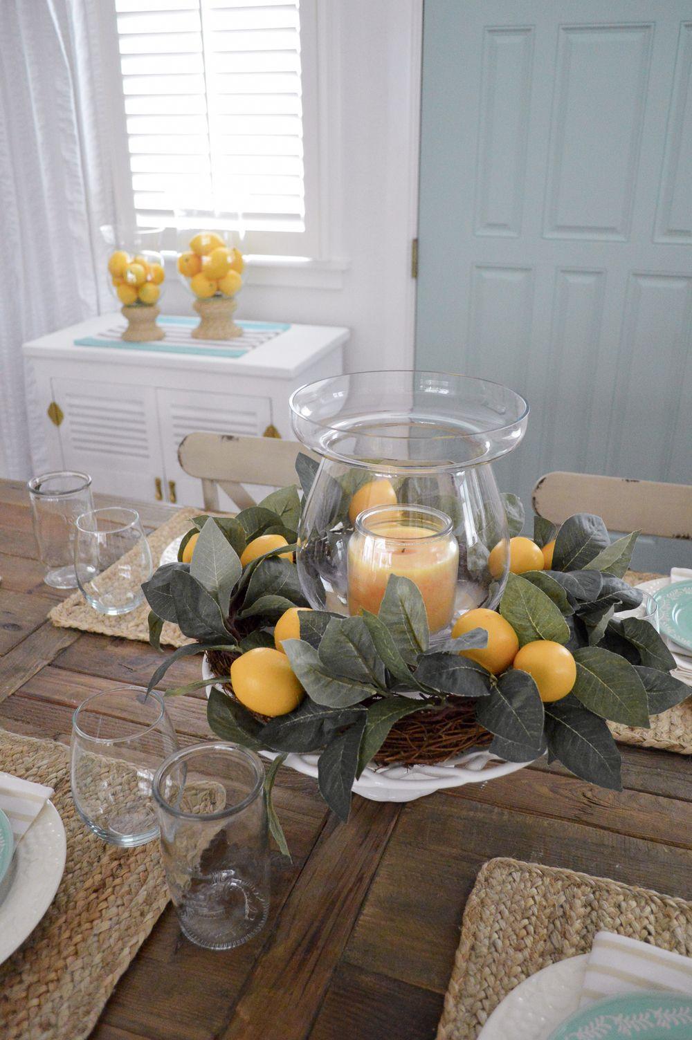 Summer Isn T Over Yet Lemons Spring Home Decor Lemon