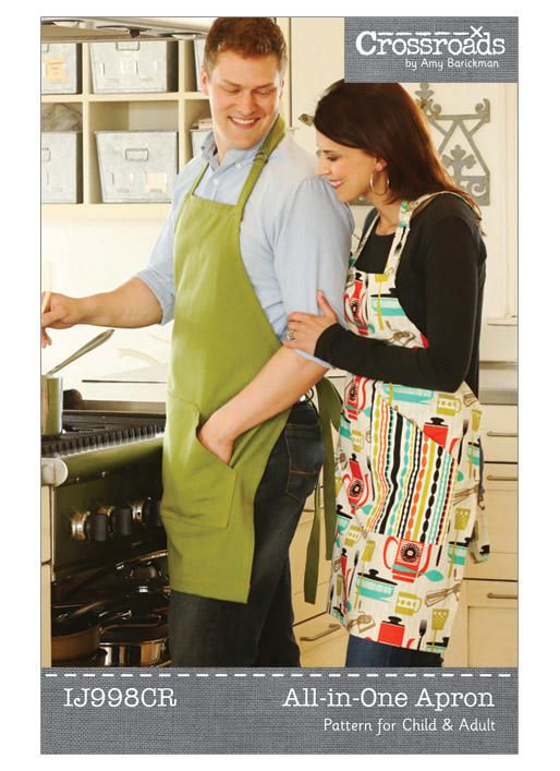 All-in-One Apron | Kwik Sew Patterns | Patterns to | Pinterest ...