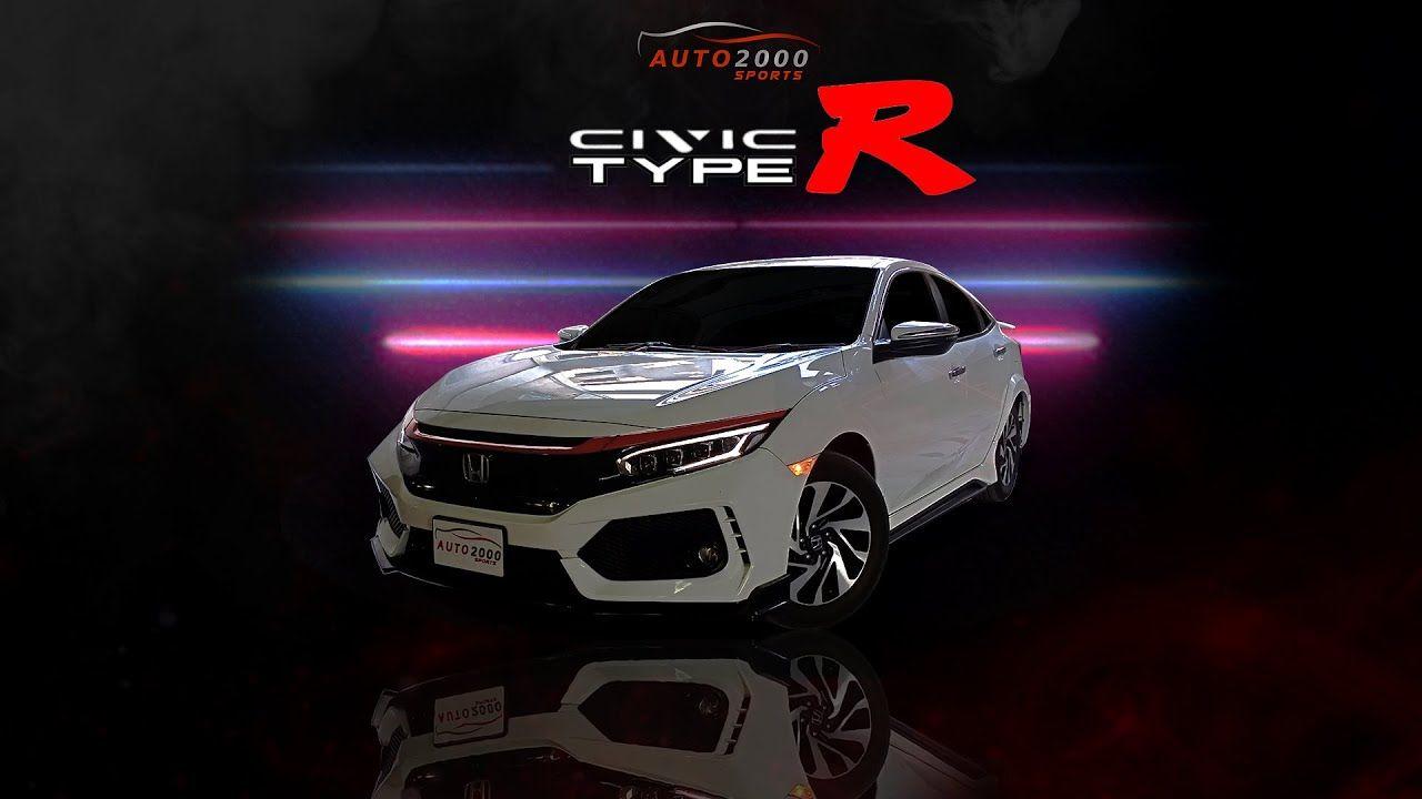 Honda Civic Body Kit Modification Accessories 2016 2020 Honda Civic Body Kits Honda Civic Body Kit