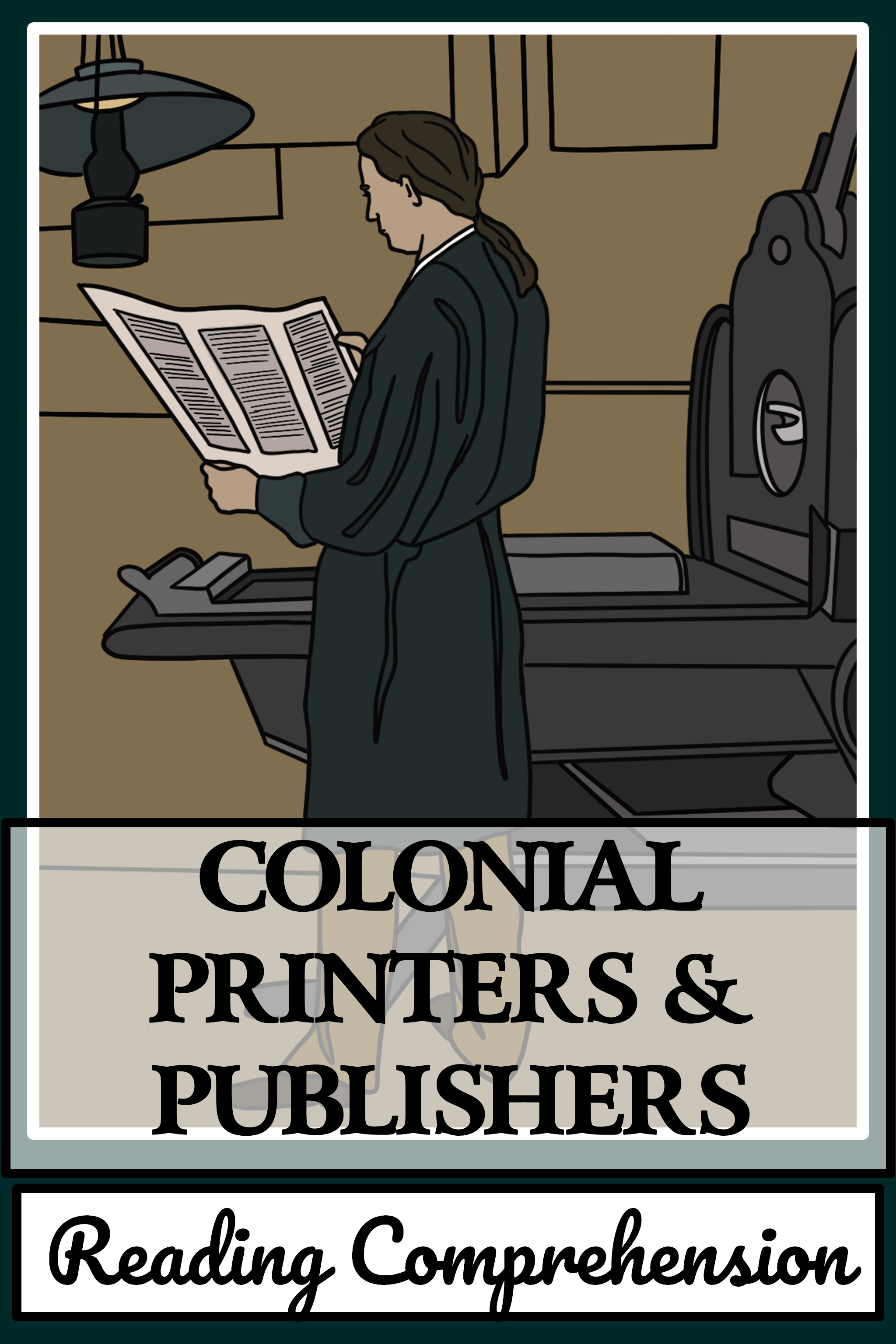 Colonial Printers Publishers Reading Comprehension Reading Passages Reading Comprehension Fiction Reading Passages [ 3072 x 2048 Pixel ]