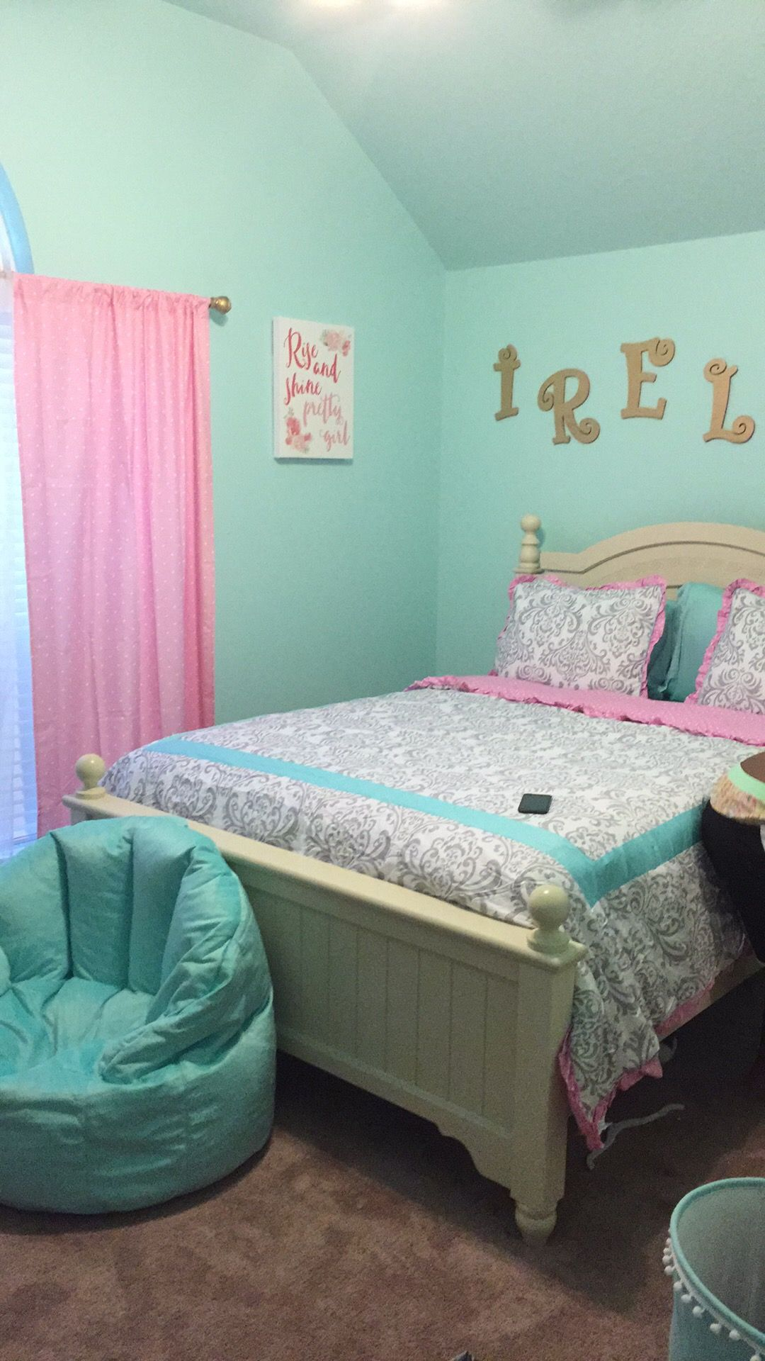 Sherwin Williams tame teal | Girls Bedroom Paint Ideas | Pinterest ...