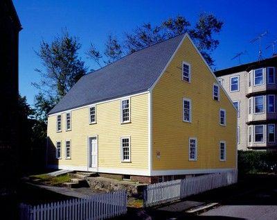gedney house httpwwwhistoricnewenglandorghistoric properties - Historic House Colors