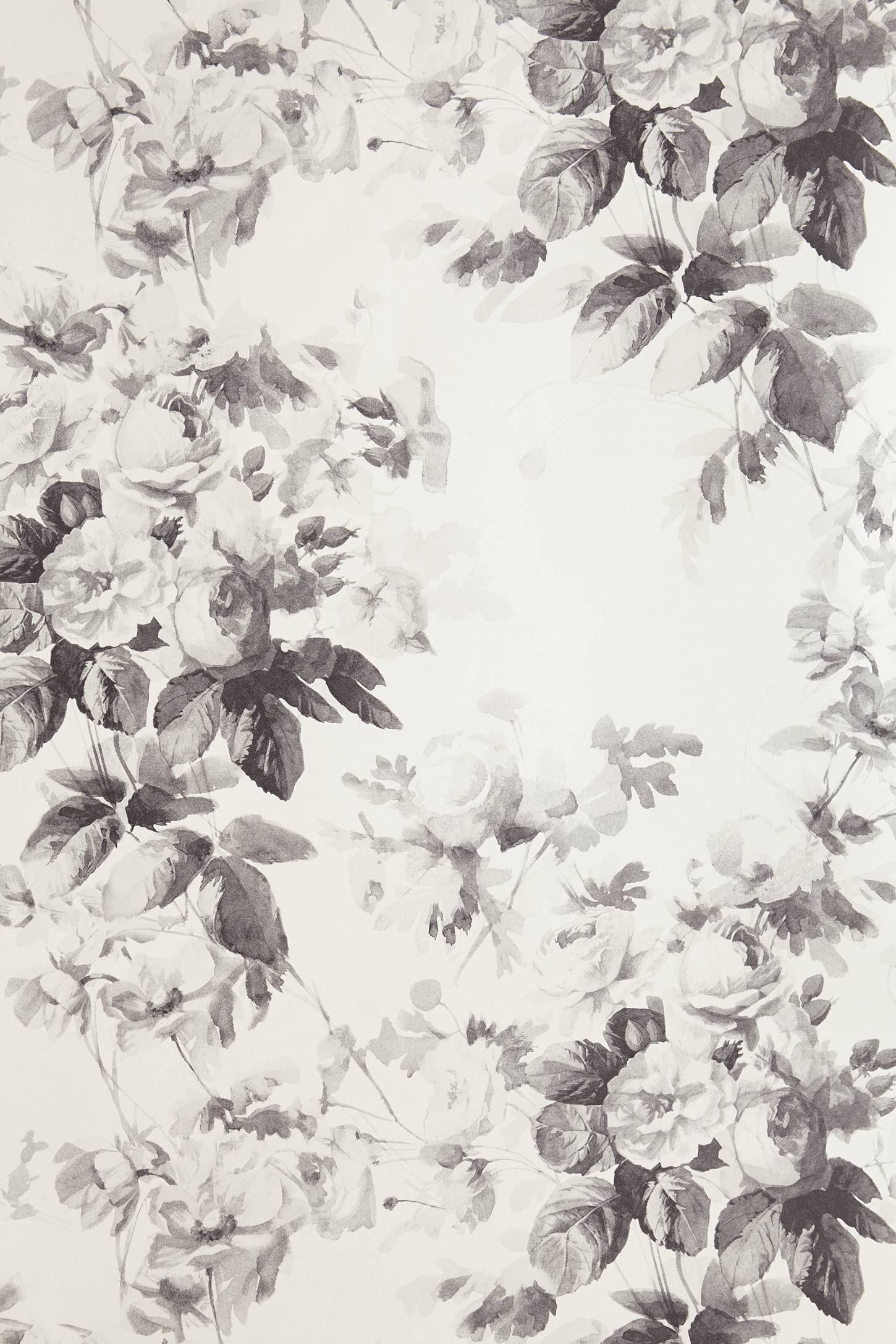 Smoky Rose Wallpaper Anthropologie Com Decorating Ideas