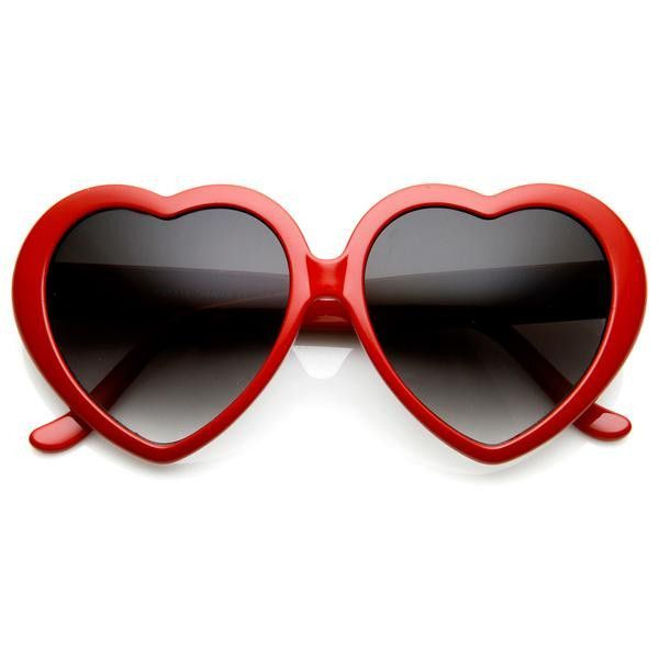 4916a33c78 Spread the love with these super funky heart shaped sunglasses! These  Sunnies are available in floral or red.