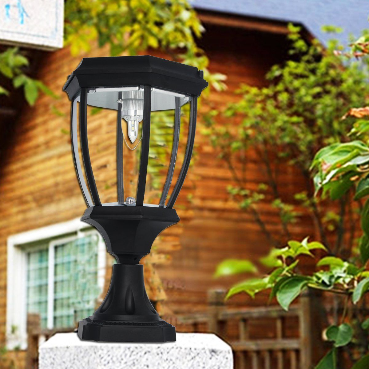 Large Outdoor Solar Powered LED Light Lamp SL8405 (With