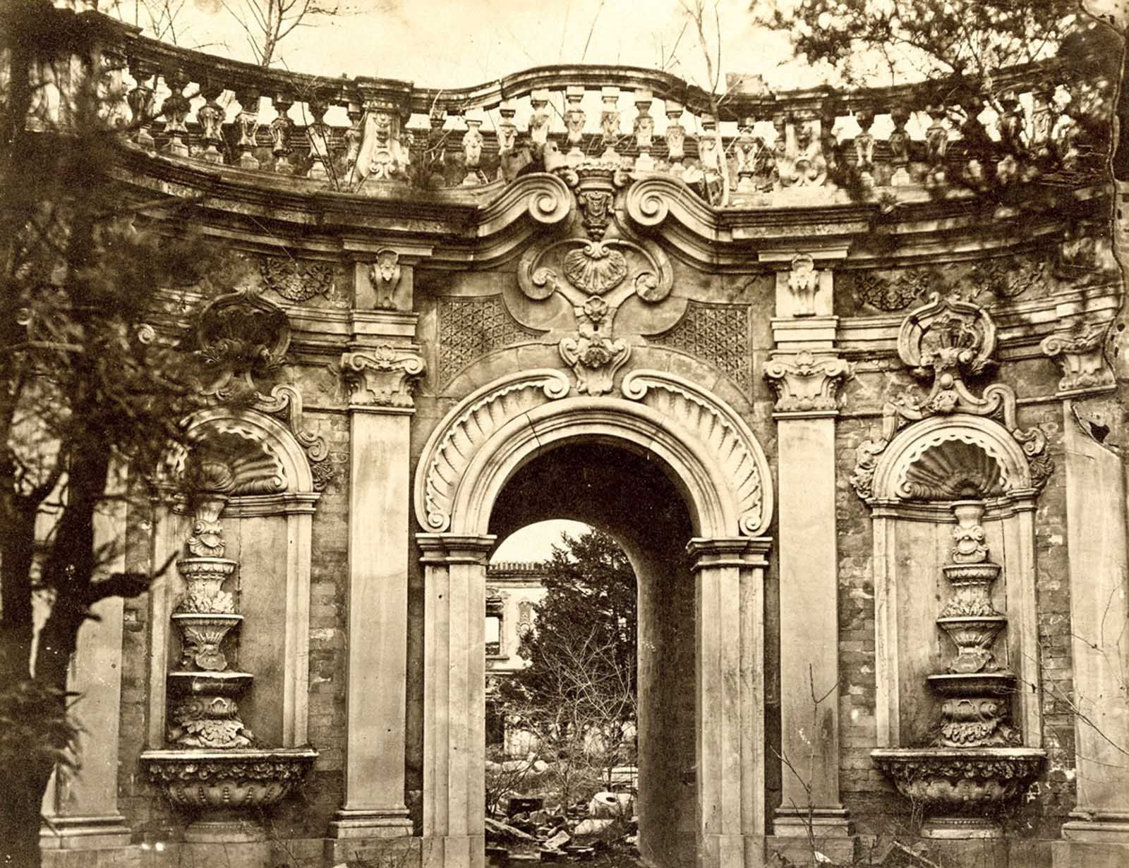 A rare view of China\'s last dynasty, 1870-1880 | Palace garden ...
