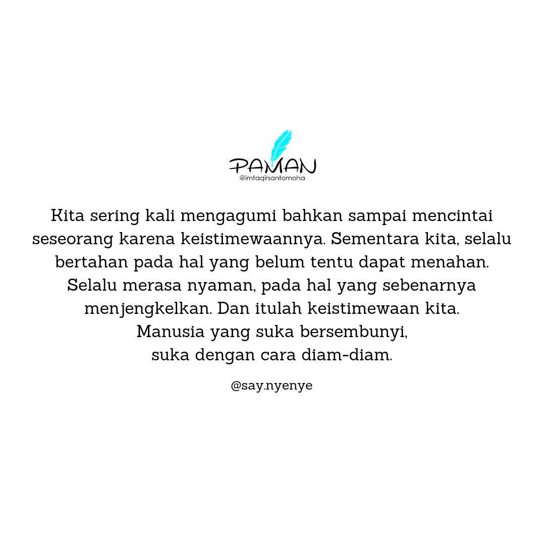 Quotes Nyenye Huruf Kata Kalimat Puisi Sajak Khiasan