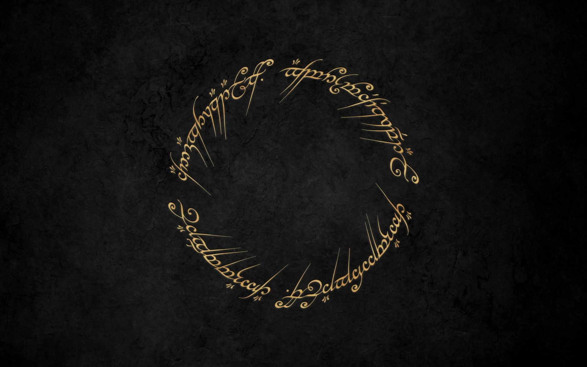 Small Wallpaper Dump 1920x1080 Minimum Lord Of The Rings One Ring Lotr