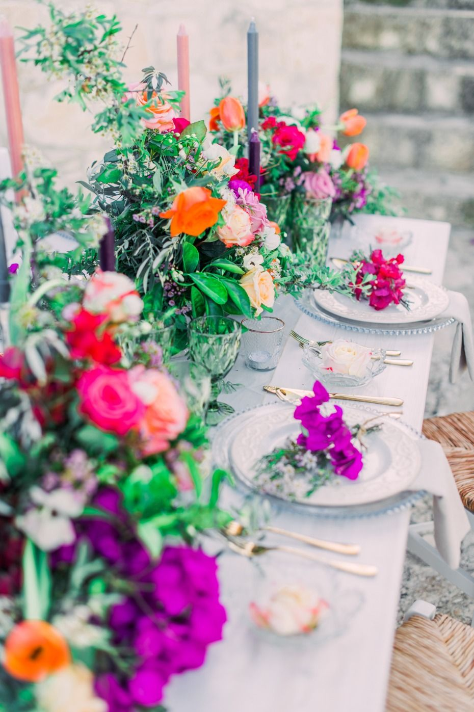 Traditional Meets Boho Style Inspired Wedding Ideas Colorful
