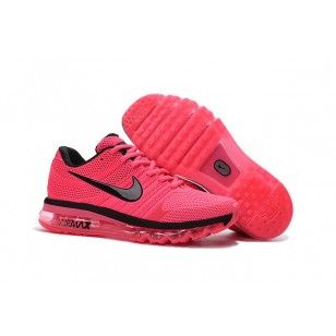 8dde9012a0ff1 Nike AIR MAX 2017 drop plastic two generation nanotechnology KPU peach red and  black running shoes