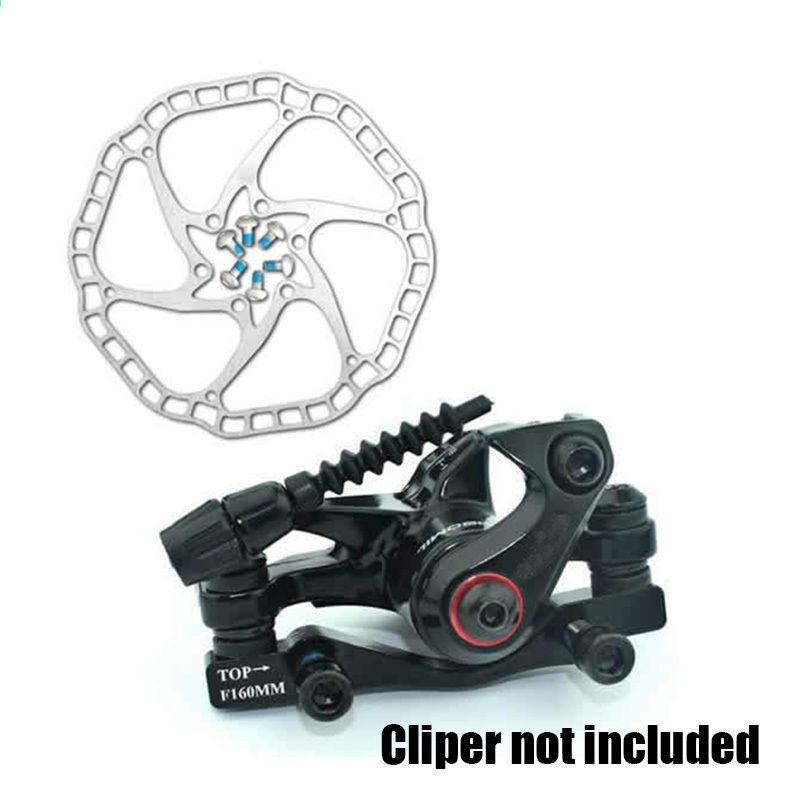 68 g   adet Ultra-hafif Bisiklet Hidrolik Disk fren Rotorlar MTB bisiklet  Yol Yarış a22373b41