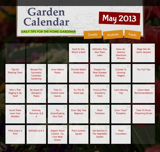 Captivating DAILY Gardening Tips For The Month Of May! Great Gardening Resource    Just  Click