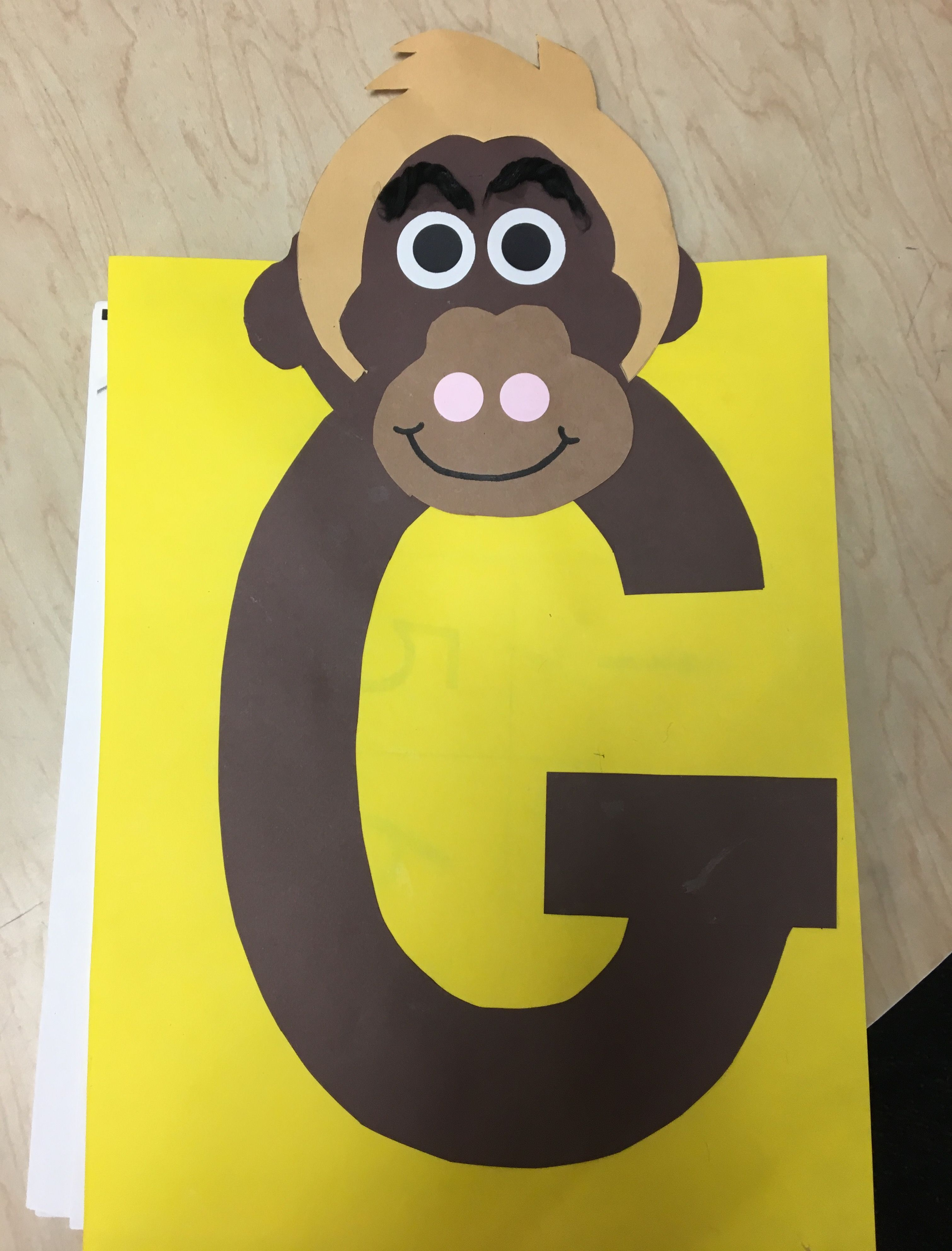 Gordo Gorilla Zoo Phonics Craft