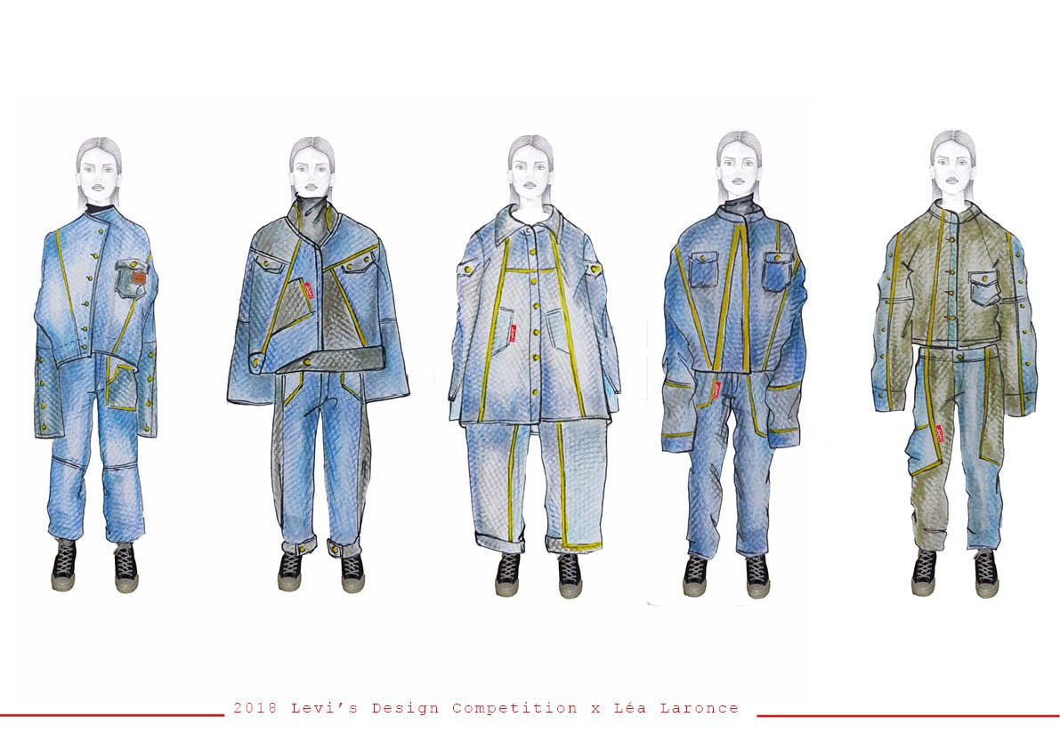 2018 Levi S Design Competition X Artshread Artsthread Design Competitions Student Fashion Levi