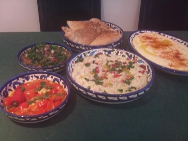 Love arabic mezze learn how to make some add genie cooks as a food forumfinder Images
