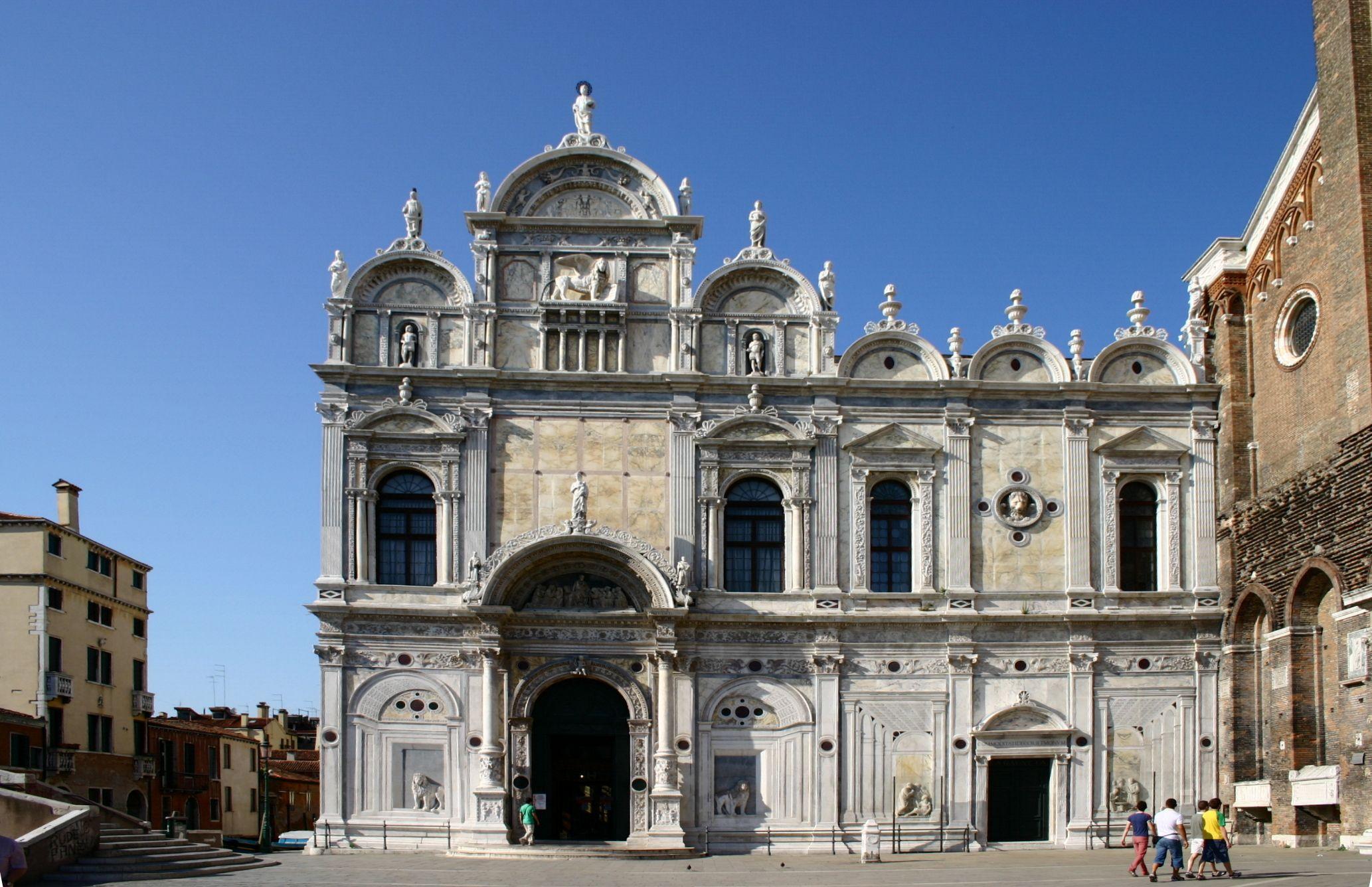 Scuola grande di san marco venice italian renaissance for Architecture venise