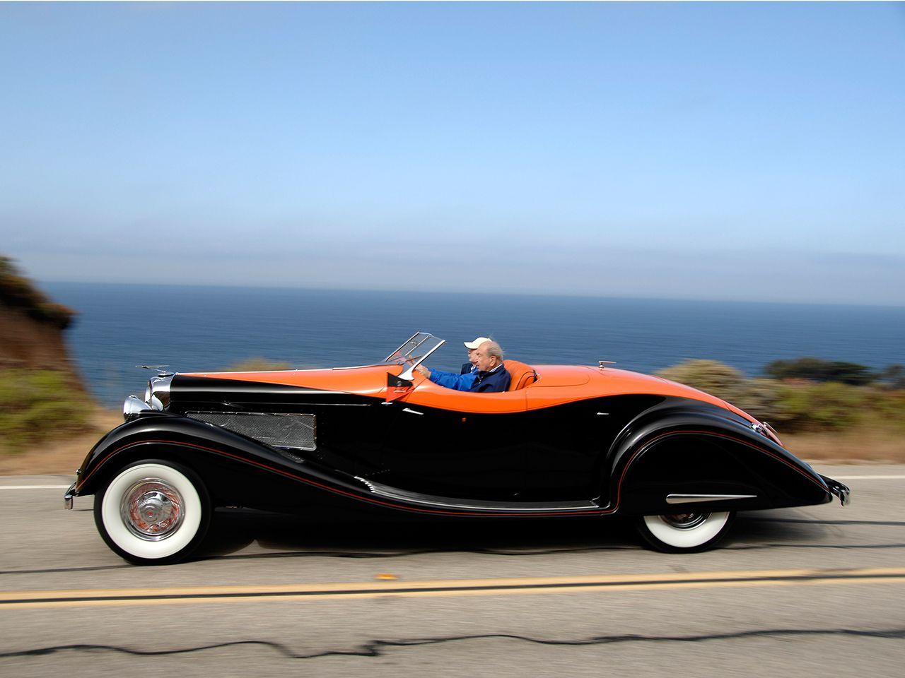 1935 Duesenberg SJ 585/2614 Convertible Coupe LWB by Gurney-Nutting