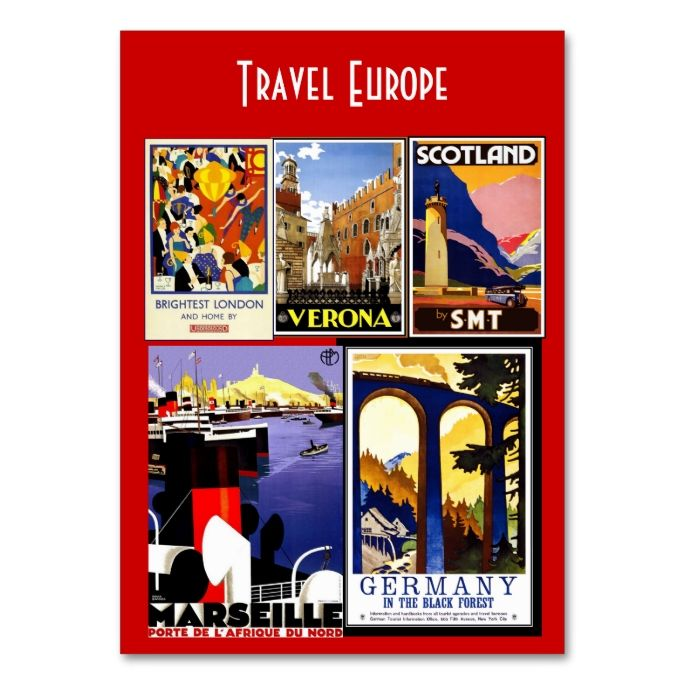 Business card vintage travel agent europe vintage travel business business card vintage travel agent europe reheart Images