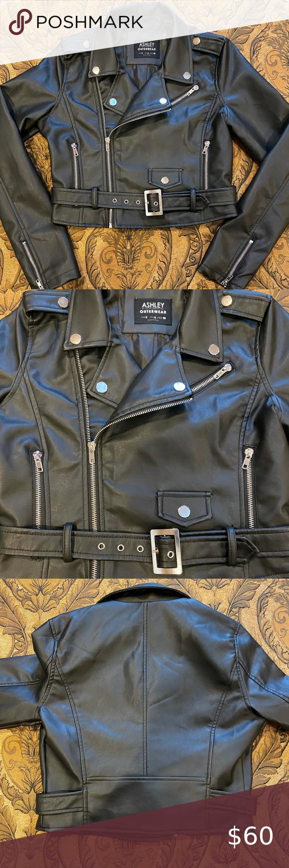 Ashley 26 International Brenda Moto Jacket Clothes Design Cropped Moto Jacket Jackets [ 1740 x 580 Pixel ]