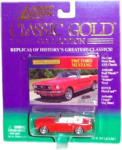 Johnny Lightning - Limited Edition Classic Gold Collection - 1965 Ford Mustang (Red Convertible) Johnny Lightning http://www.amazon.com/dp/B00367FMC0/ref=cm_sw_r_pi_dp_CYfJwb07MYRPE