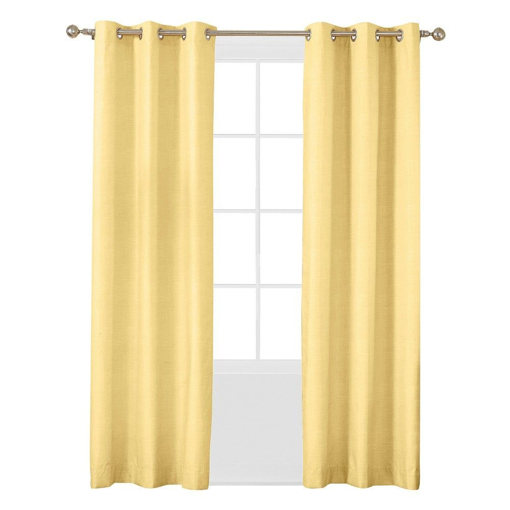 Sun Zero Haverhill Linen Texture Thermal Insulated Energy Efficient Grommet Curtain Panel Panel Curtains Cool Curtains Grommet Curtains