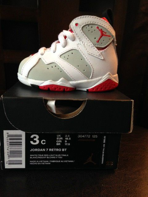 024e136968aafe Air Jordan Retro 7 Hare Lola Bunny Toddler Size 3C  nike  Athletic ...