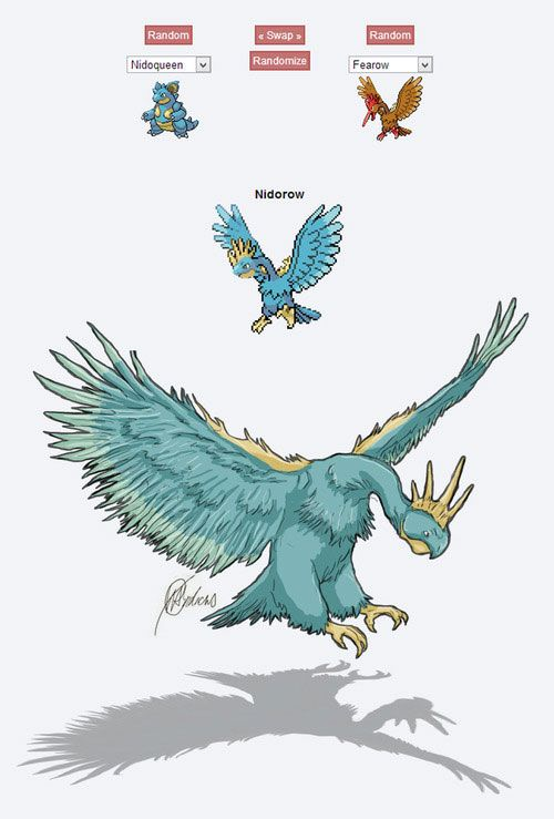 Extrêmement pokemon fusion fan art nidoow | Andy | Pinterest | pokemon Fusion  KM72