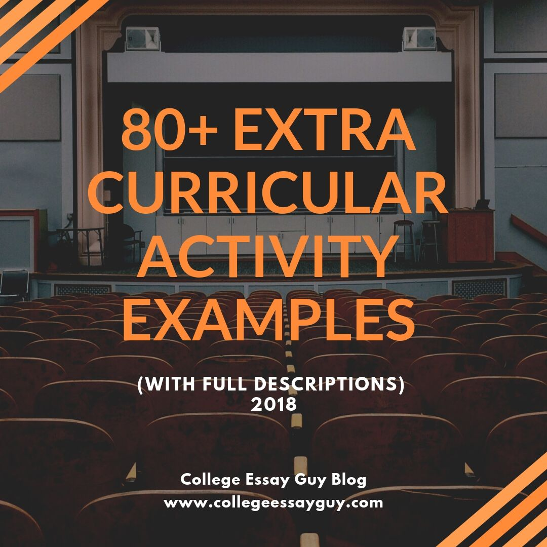 80+ Extracurricular Activity Examples for the Common