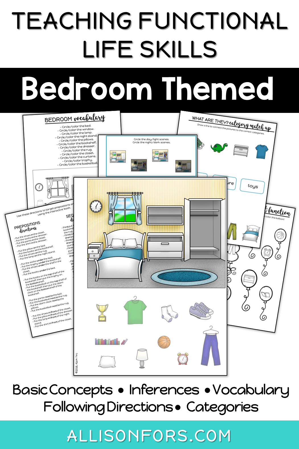 Life Skills Interactive Book Bedroom With Images