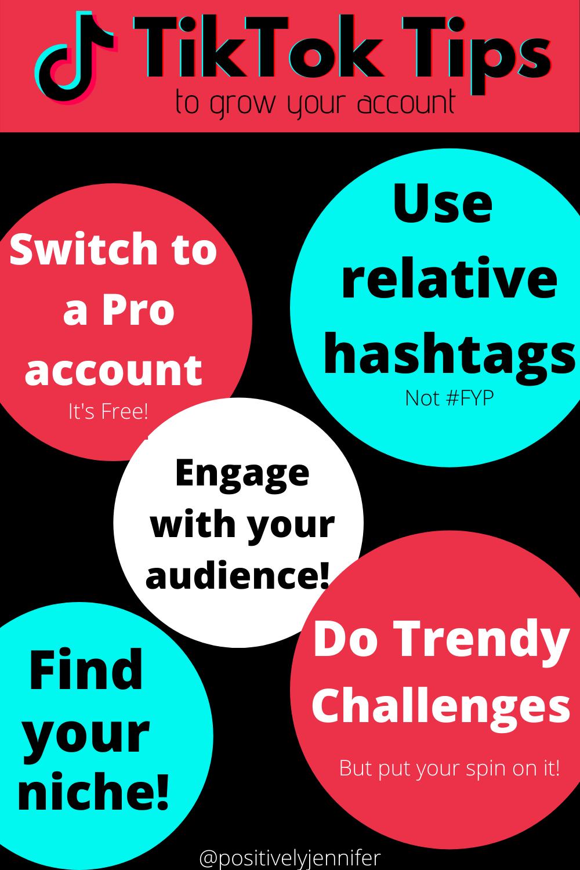 Grow Your Account On Tiktok With These Tips High School Teacher Tips Social Media Tips
