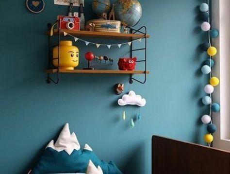 1001 Idees Creer Une Deco En Bleu Et Jaune Conviviale Avec Images Deco Chambre Bebe Couleur Chambre Garcon Deco Chambre Garcon