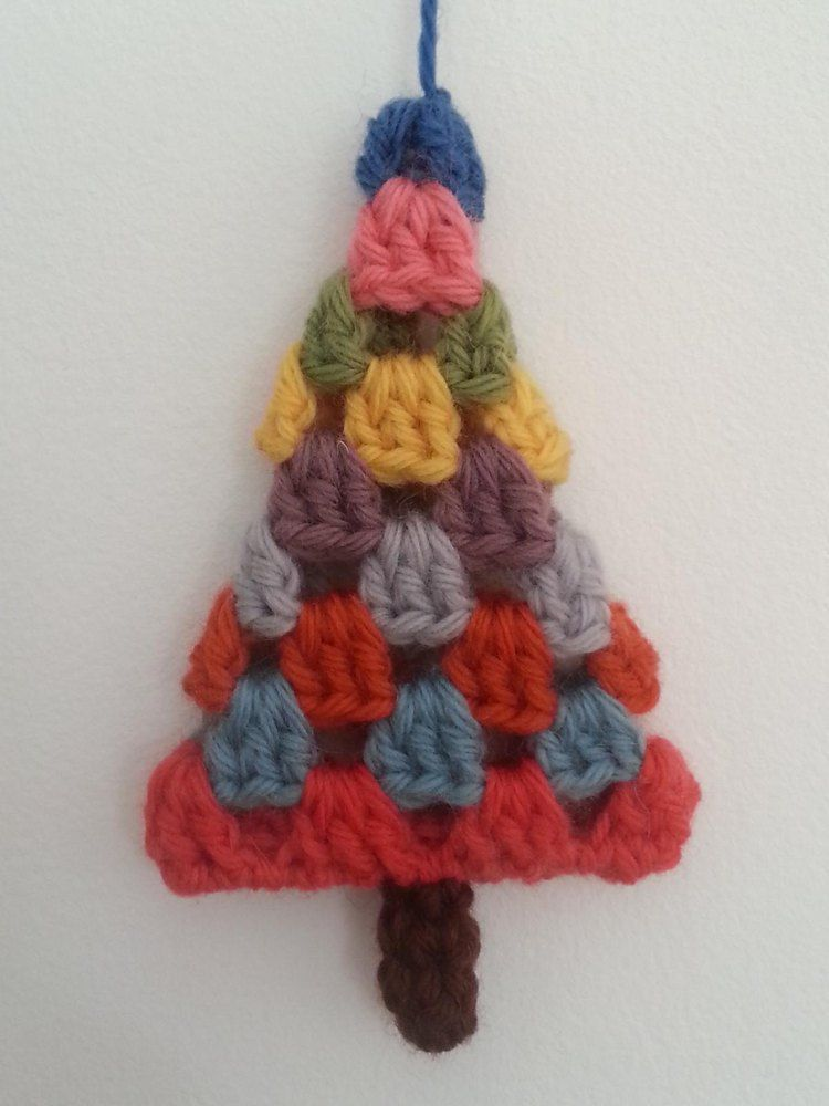Granny Christmas Tree Crochet pattern by Squibblybups