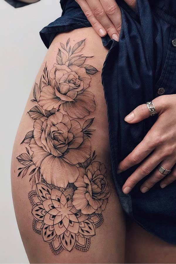 43 Sexy Tattoos for Women You'll Want to Copy | StayGlam