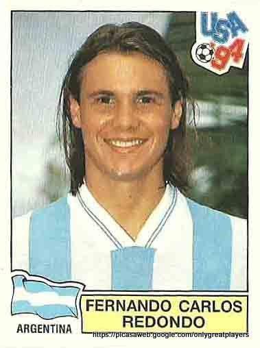 Resultado de imagem para Redondo seleção argentina