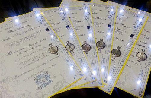 Led Light Wedding Invitations