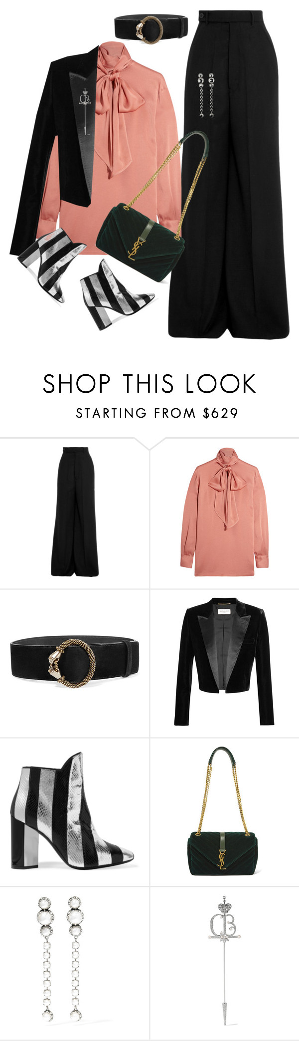 """""""The Edit's Choice"""" by jacque-reid ❤ liked on Polyvore featuring Rick Owens, Lanvin, Yves Saint Laurent, Pierre Hardy, Balenciaga and netaporter"""